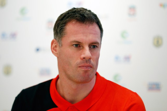 SYDNEY, AUSTRALIA - JANUARY 06: Jamie Carragher attends a press conference at the Park Hyatt on January 6, 2016 in Sydney, Australia. (Photo by Zak Kaczmarek - Liverpool FC/Liverpool FC via Getty Images)