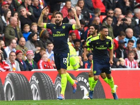 Arsenal striker Olivier Giroud proves perfect sub with two goals from two touches