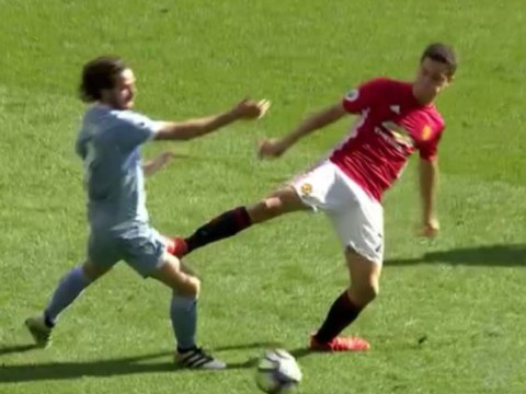Ander Herrera channels Roy Keane but gets away with horror tackle in Manchester United's match with Stoke