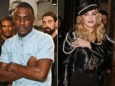 Idris Elba shoots down reports that he's dating Madonna