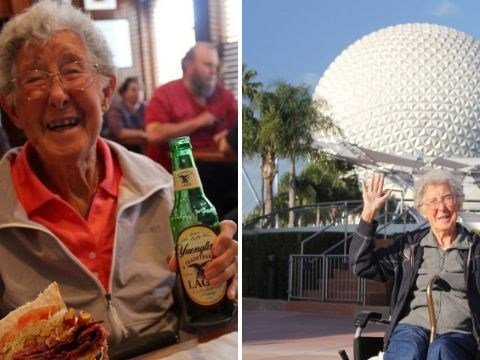 Woman, 91, who chose trip of a lifetime over cancer treatment dies
