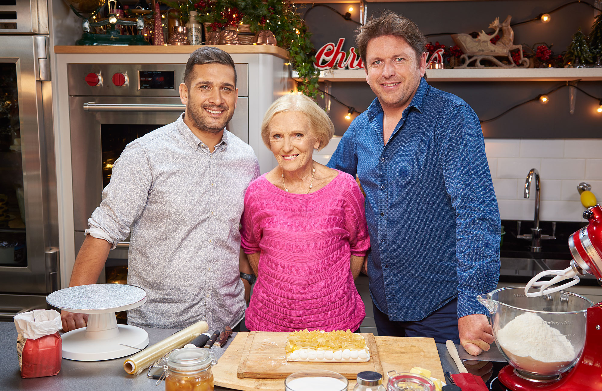 James Martin and Mary Berry's Christmas cooking special sounds like the stuff of TV dreams
