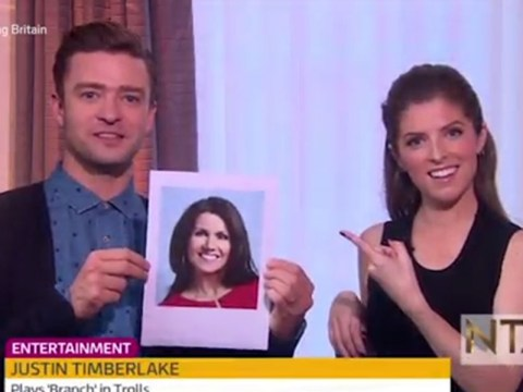 Susanna Reid is a 'super-hot grandma', according to Justin Timberlake