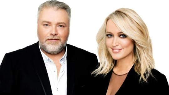 Kyle Sandilands and Jackie O inadvertently schooled Niall Horan with a popularity lesson (Picture: KIIS 1065 Sydney)