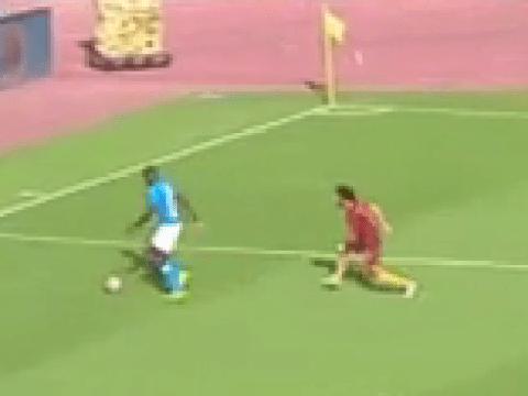 Video: Chelsea transfer target Kalidou Koulibaly makes dreadful error to allow Edin Dzeko goal