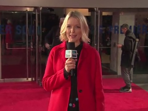 Rosamund Pike kicked off the London Film Festival – and Lauren Laverne was there to host it for us