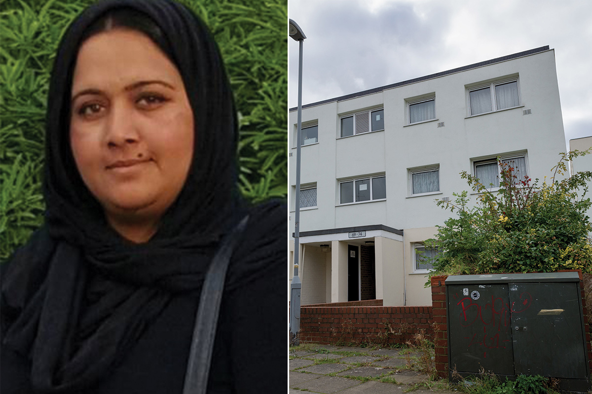 New mother found dead in Luton flat named as Tabassum Winning