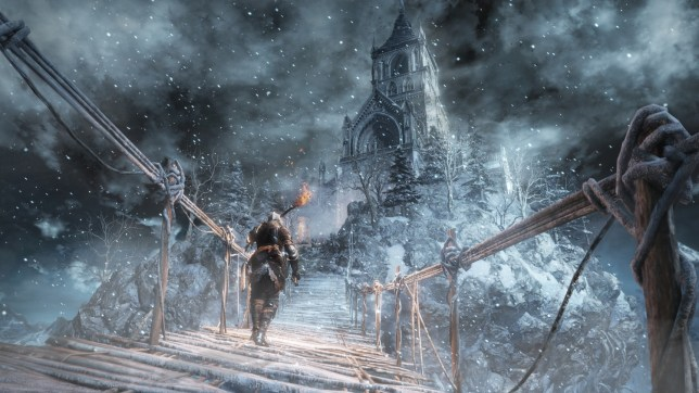 Dark Souls III: Ashes Of Ariandel (PS4) - the weather is the least of your problems