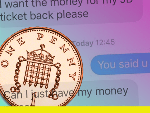 Girl sets up 17-year direct debit for ex who asked for his money back