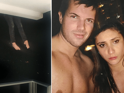Chilling selfies before woman fell to her death 'escaping Tinder date'
