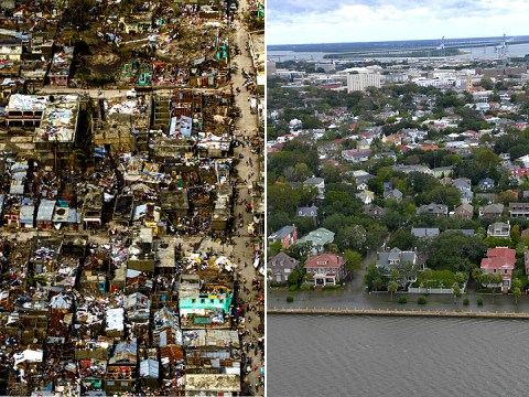 One disaster, two different worlds: How Florida compares to Haiti after Hurricane Matthew
