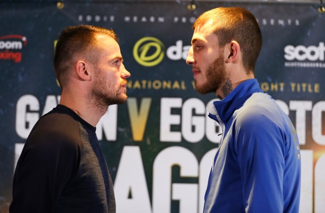 Frankie Gavin and Sam Eggington final head to head press conference today in birmingham as they prepare for their fight for the vacant WBC International Welterweight title. on saturday night in Birmingham. 20th October 2016. Picture By Mark Robinson.