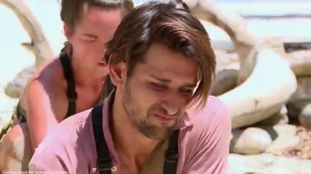 This is the horrific moment Ollie Locke killed a crocodile on Celebrity Island With Bear Grylls