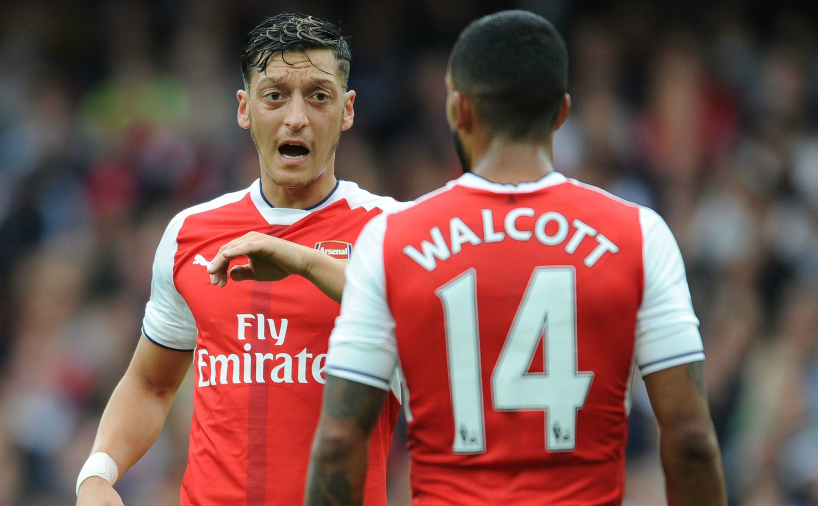 Arsenal legend Thierry Henry reveals why Mesut Ozil and Theo Walcott have been scoring so many goals