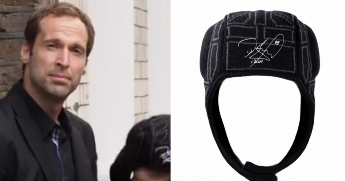 Arsenal News: Petr Cech Is Selling Hats Shaped Like His