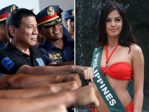 Beauty queen sparks outrage after comparing Fillipino president to Hitler