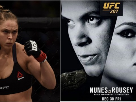 Ronda Rousey will return to the octagon on December 30 against Amanda Nunes at UFC 207