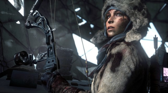 Rise Of The Tomb Raider: 20 Year Celebration (PS4) - Lara's looking good for her age