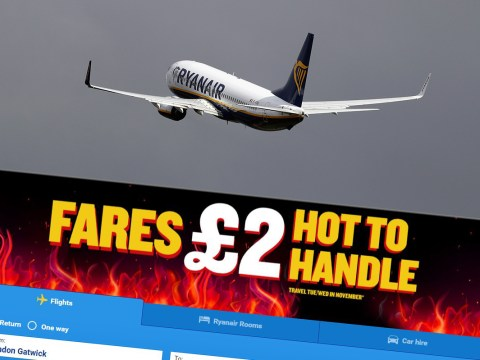 You can get flights for £2 – but you have to book today