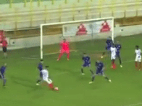 Video: Manchester City's Jadon Sancho scores solo stunner for England Under-17s