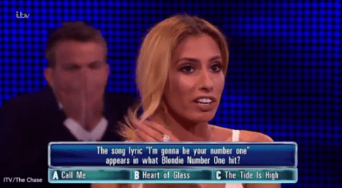 'Who would have thought?' Stacey Solomon stuns viewers by winning £60,000 against Anne Hegerty on The Chase