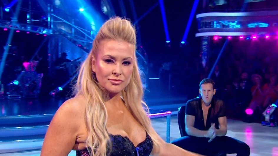 Anastacia is the bookies favourite to leave Strictly Come Dancing this weekend