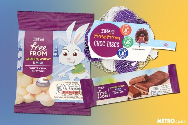 Tesco is now doing a vegan selection box