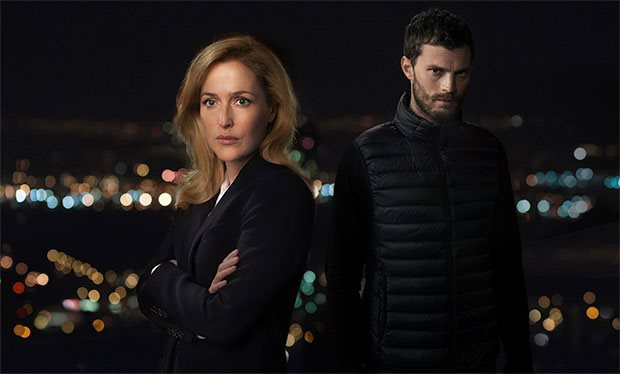 Gillian Anderson and Jamie Dornan stunned viewers in The Fall (Picture: BBC)