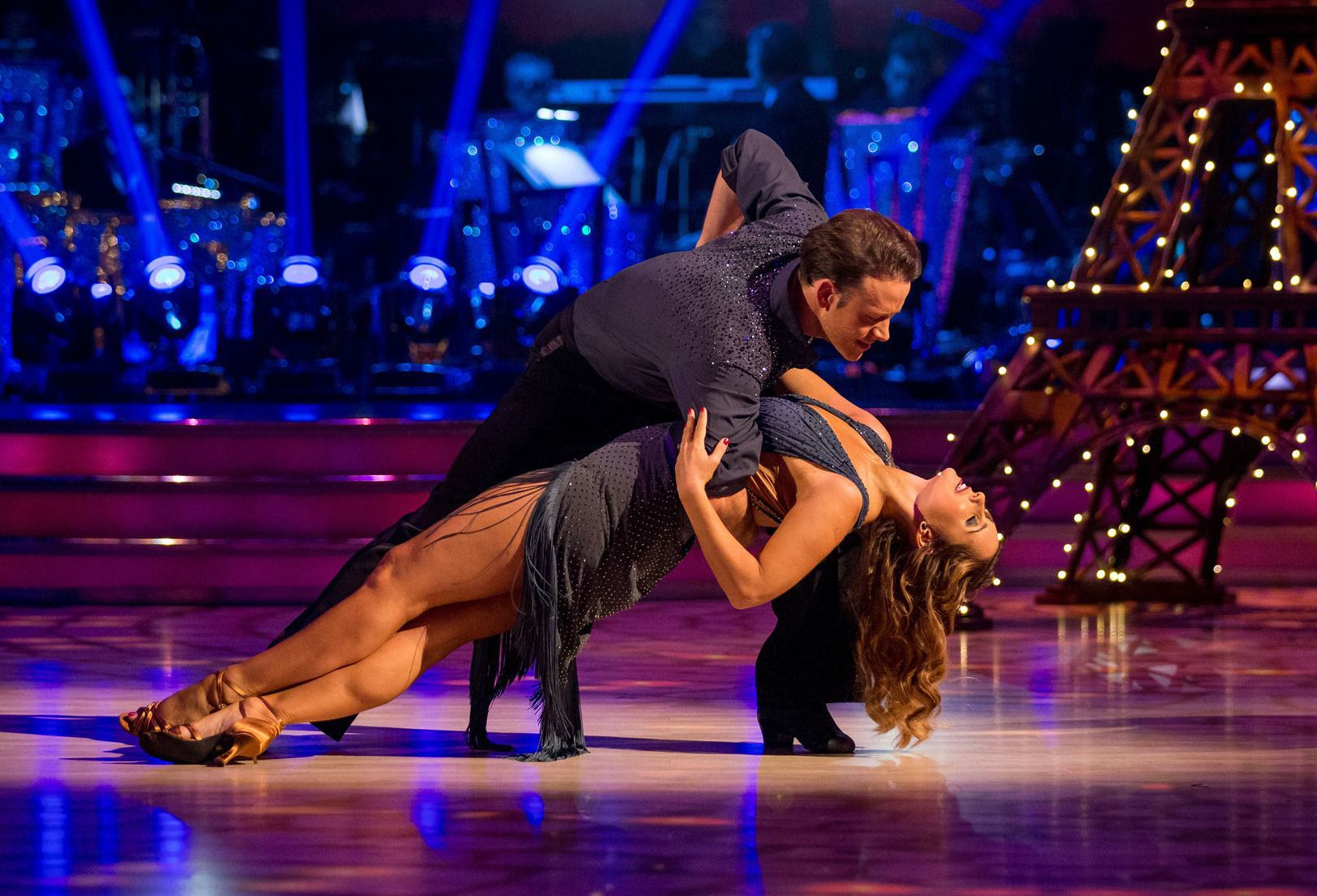 Kevin Clifton and Louise Redknapp