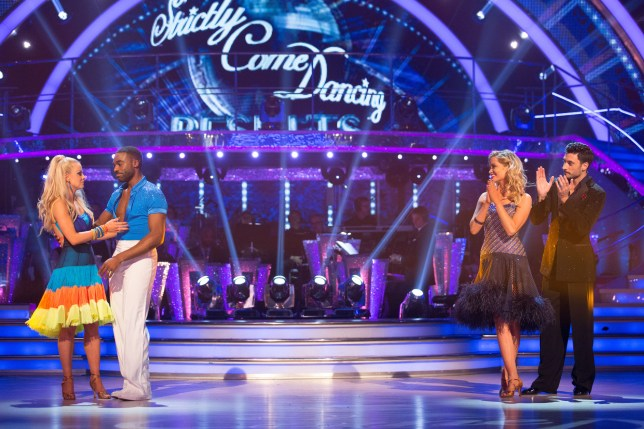 It was a tense dance-off (Picture: BBC)