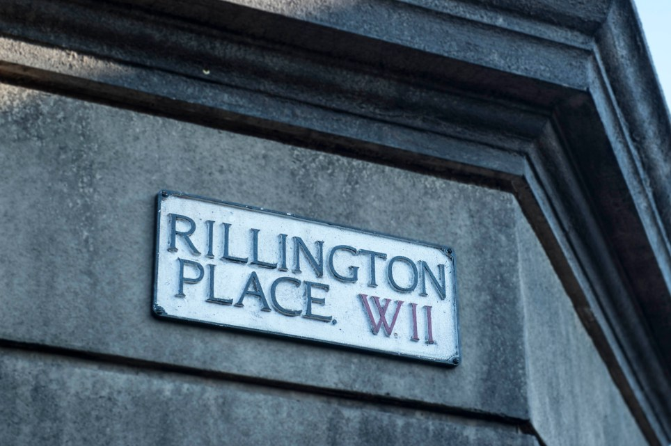 Programme Name: Rillington Place - TX: n/a - Episode: n/a (No. n/a) - Picture Shows: BEHIND THE SCENES - (C) BBC - Photographer: Des Willie