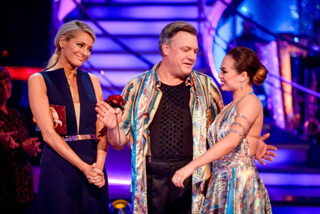 David Cameron has paid tribute to eliminated Strictly star Ed Balls (Picture: BBC)