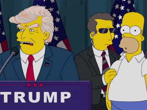 The Simpsons predicted President Trump 16 years ago as 'a warning to America'