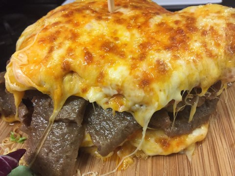 Could you eat this 8,000 calorie sandwich stuffed with kebab meat?