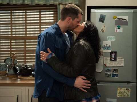 Emmerdale Christmas spoilers: Sex scandal as Pete Barton and Moira Dingle get passionate