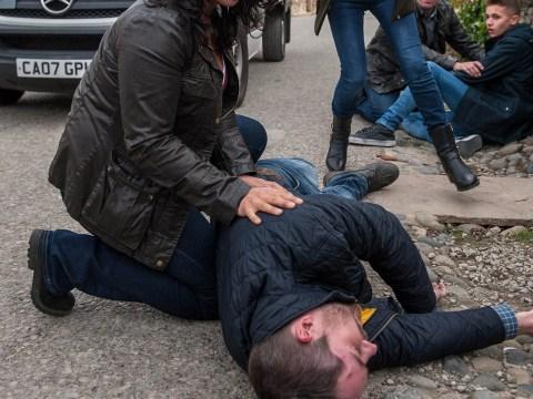 Emmerdale Christmas spoilers: Pete Barton killed in van crash horror as Moira loses control?
