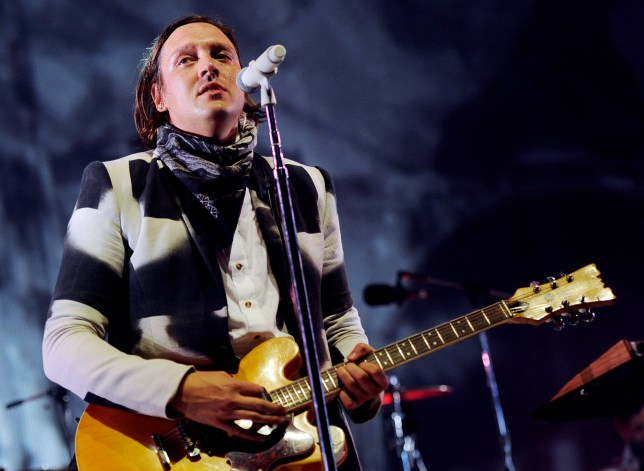 INGLEWOOD, CA - AUGUST 02: Musician Win Butler of Arcade Fire performs during The Reflector Tour at The Forum on August 2, 2014 in Inglewood, California. (Photo by Kevin Winter/Getty Images)