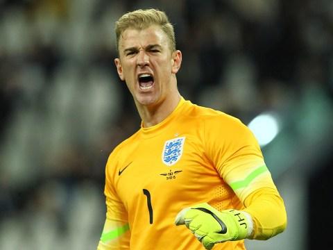 England goalkeeper Joe Hart admits he was too 'pumped up' at Euro 2016