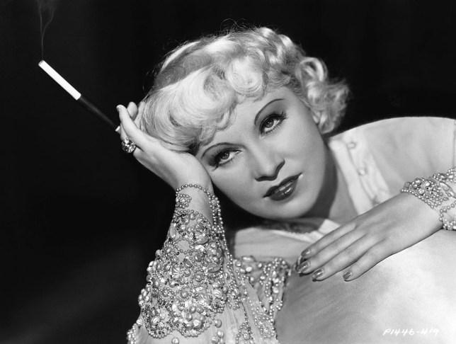 Mae West. original queen of the Bad Girls (Picture: Corbis via Getty)