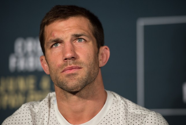 INGLEWOOD, CA - JUNE 04: Luke Rockhold attends the post fight press conference after the UFC 199 event at The Forum on June 4, 2016 in Inglewood, California. (Photo by Brandon Magnus/Zuffa LLC/Zuffa LLC via Getty Images)
