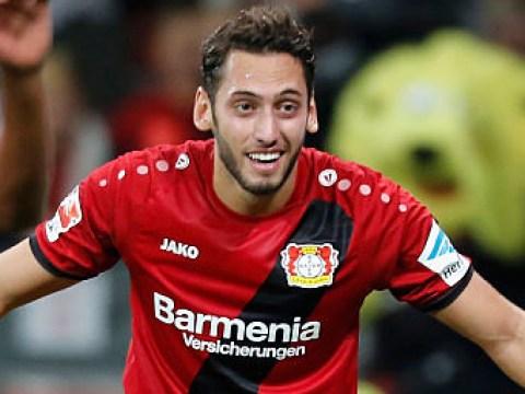 Chelsea eye transfer for Bayer Leverkusen's Hakan Calhanoglu to replace Oscar