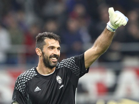Juventus' Gianluigi Buffon becomes third ever Italian to reach 100 Champions League appearances