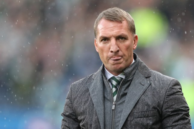 GLASGOW, SCOTLAND - OCTOBER 23: Brendan Rogers, Manager of Celtic looks on during the Betfred Cup Semi Final match between Rangers and Celtic at Hampden Park on October 23, 2016 in Glasgow, Scotland. (Photo by Ian MacNicol/Getty Images)