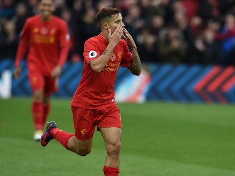 Liverpool fans proclaim Philippe Coutinho is better than Arsenal No.10 Mesut Ozil after Watford display