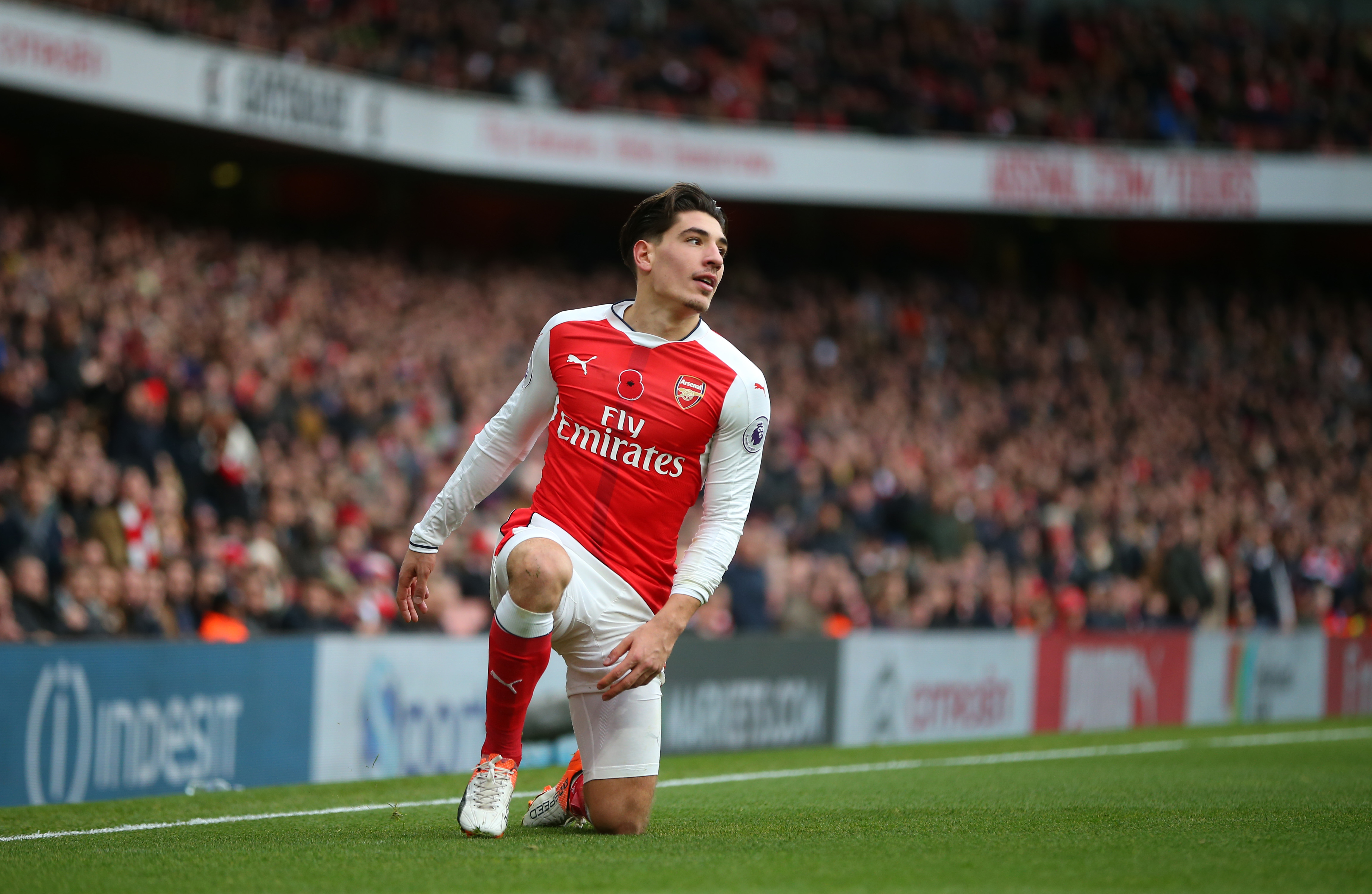 First Theo Walcott, now Hector Bellerin – Danny Rose is Arsenal's injury nemesis