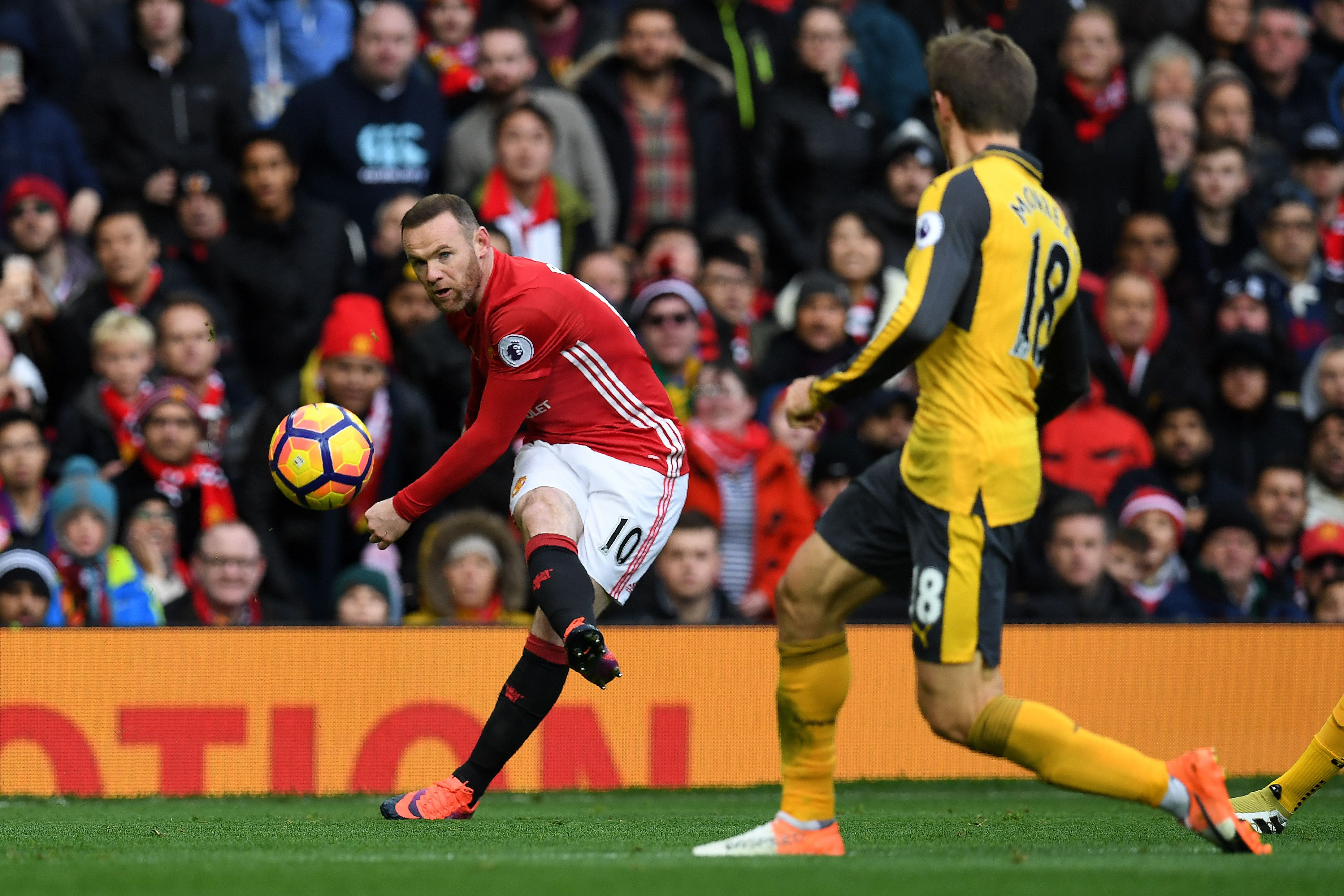 Manchester United have scored just two goals from 74 shots in their last three home games