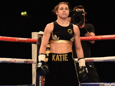 Eddie Hearn admits he dressed Katie Taylor for her debut victory and says headline fight not far away