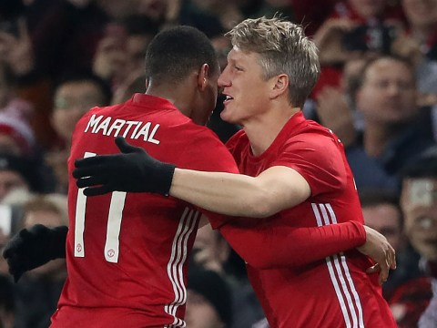 Anthony Martial reveals Bastian Schweinsteiger's nickname at Manchester United
