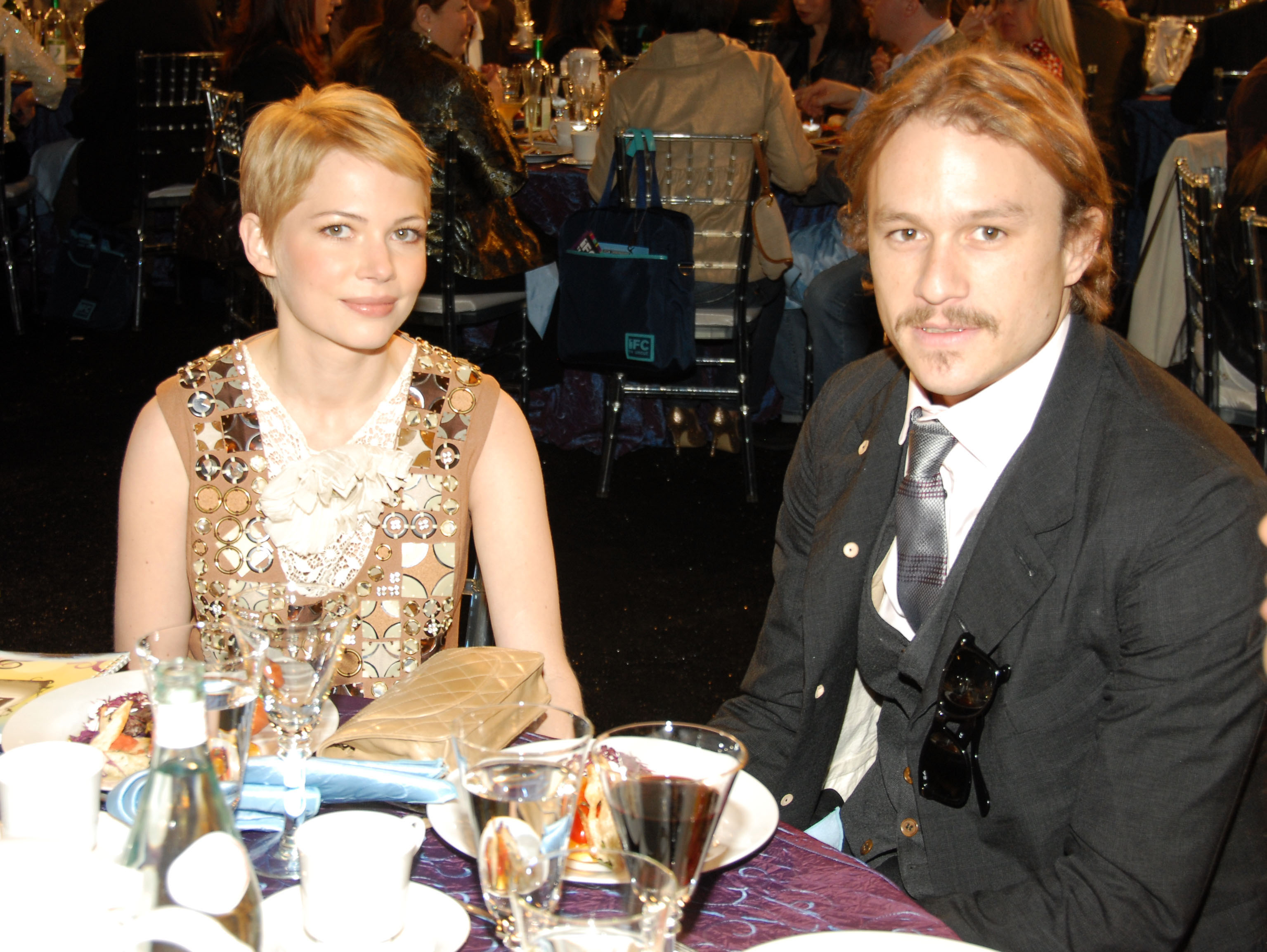 Michelle Williams and Heath Ledger (Picture: WireImage)