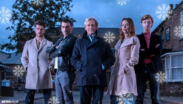 Couple of edits to a Corrie pic Credit: ITV